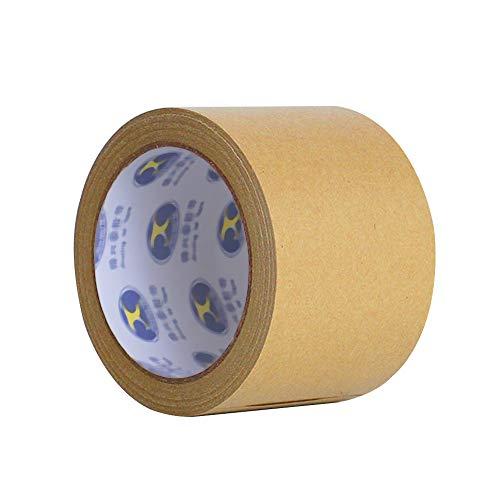 ONECHANCE Kraftpapier Klebeband 25M/roll Multipack Papier-Packband Papier Klebeband Packband braun Color Brown Size 80mm(2 rolls)