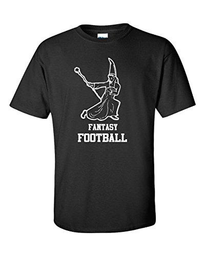 Jacted Up Tees Fantasy Football Wizard Men's T-Shirt SHIPS FROM OHIO USA