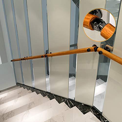YZJJ 30-400cm Vintage Industrial schützen Handlauf, behinderte und ältere Menschen Sicherheit rutschfeste Treppe Handlauf, geeignet für Badezimmer Toiletten Indoor Outdoor Handläufe