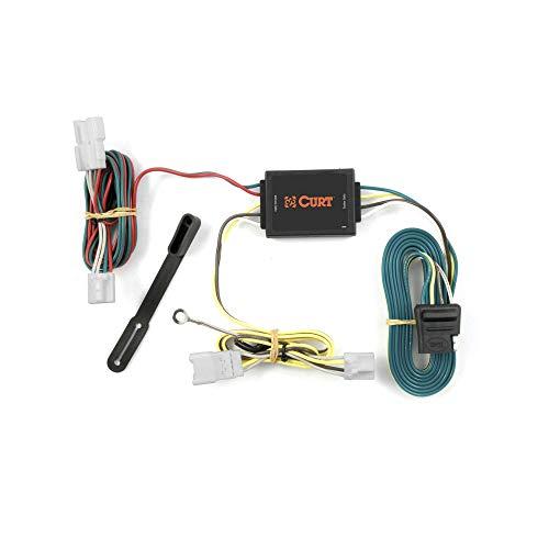CURT 56078 Vehicle-Side Custom 4-Pin Trailer Wiring Harness, Select Hyundai Santa Fe, Kia Forte