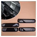 Anteprima 4 unids/Set ABS Black Car Auto Interior Handles Transport Tray Tim Tim Fit for Ford F150 2015 2016 2017 2018 2019