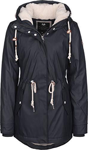 Ragwear Damen Outdoor Übergangskjacke Regenjacke Parka Monadis Rainy