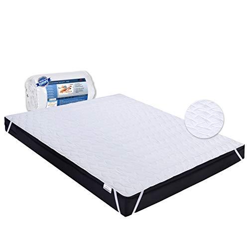 PHD Primera Matratzenschoner 140x200 cm - 60°C waschbar u. Allergiker-empfohlen für mehr Hygiene im Bett. Matratzenauflage und Matratzenschutz für Matratze, Boxspringbett u. Topper für 140 x 200