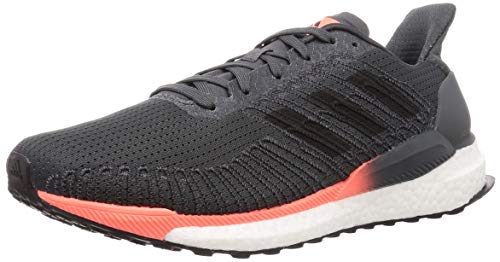 adidas Solar Boost 19 M, Zapatillas para Correr para Hombre, Gris Grey Six Core Black Signal, 45 1/3 EU