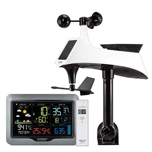 La Crosse Technology WS6867B-BLA station météo, Noir
