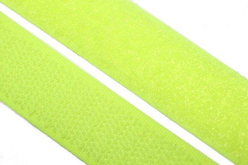 dalipo 17003 - Klettband zum annähen, 20mm, neonfarben, neon-gelb