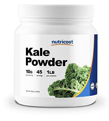 Nutricost Kale Powder 1LB - All Natural, Non-GMO, Gluten Free, Pure, Premium Kale