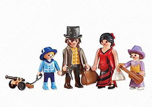 Playmobil 6323. Familia del Oeste con accesorios