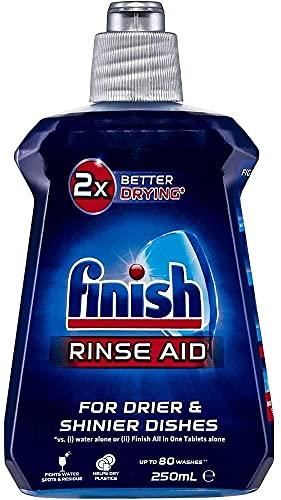 Finish Dishwashing Rinse Aid, Regular Liquid, 250ml