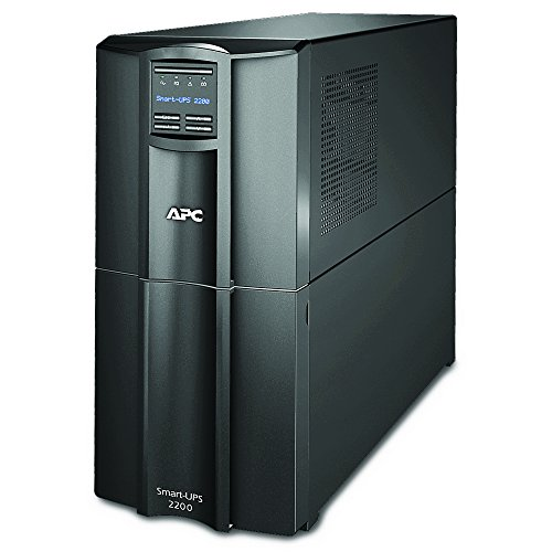 APC 2200VA Smart-UPS with SmartConnect, Pure Sinewave UPS Battery Backup, Line Interactive, 120V Uninterruptible Power Supply (SMT2200C)