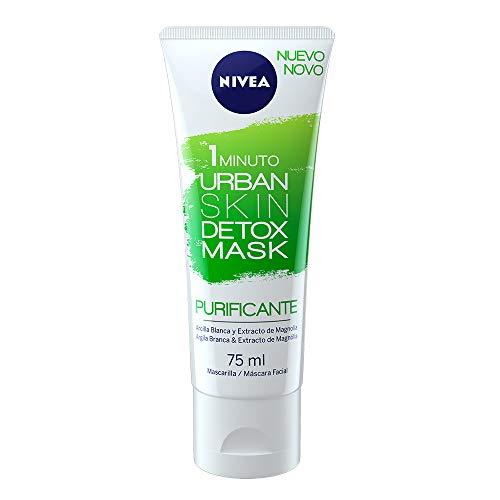 NIVEA Essentials mascarilla facial purificante urban detox tubo 75 ml