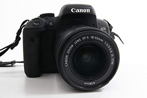 Canon EOS 750D - Fotocamera Reflex Digitale + Obiettivo EF-S 18-55 mm IS STM - Nero