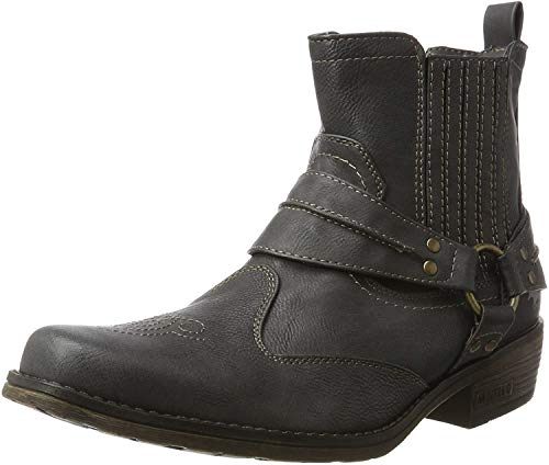 MUSTANG Herren Western-Stiefel Grau, Schuhgröße:EUR 48