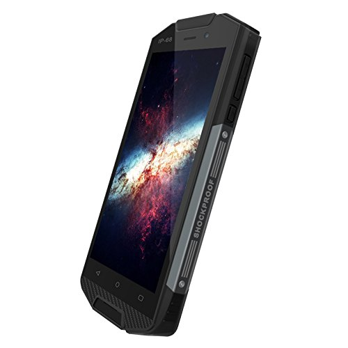 5 Inch 4 G Android 6.0 Rugged Smartphone Impermeable IP68 Unlocked Dual SIM Card Mobilephone 2 G + 16GB ROM (Black): Amazon.es: Electrónica