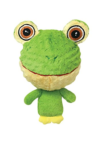 Multipet 43233-1 Knobby Noggins Frog Dog Toy
