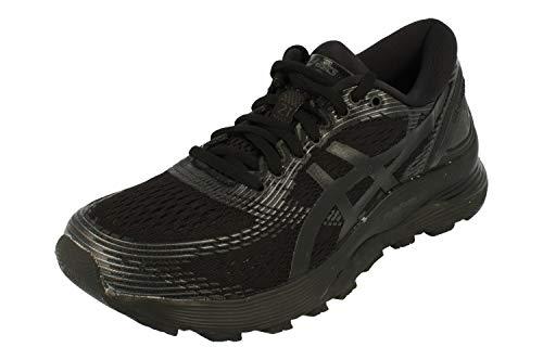 ASICS Gel-Nimbus 21 Womens Running Trainers 1012A156 Sneakers Shoes (UK 4 US 6 EU 37, Black Black 004)