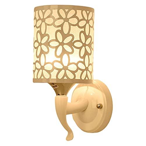 H HILABEE Aplique de Pared, decoración de Pared, Aplique de lámpara de Pared, Apliques de iluminación de Pared, para Sala de Estar, baño, Dormitorio y Pasillo