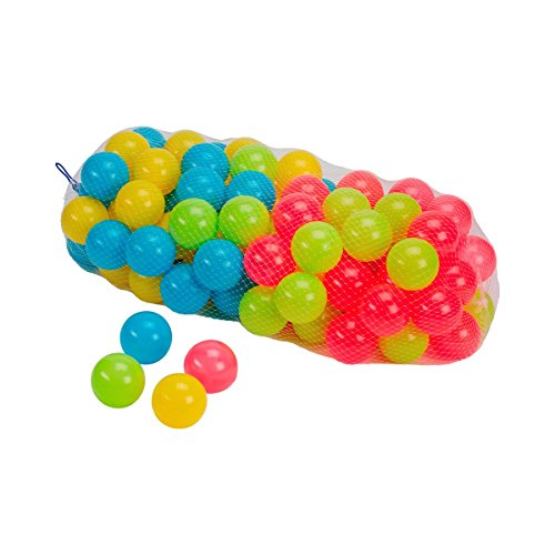 baby-walz 100 balles Sport Enfant, Multicolore