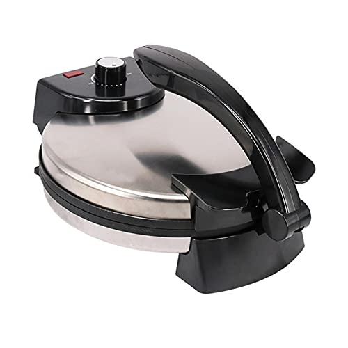 shifengzhou Fabricant de Tortilla électrique/Roti Maker 12 Pouces avec contrôle de température réglable et indicateur Lumineux prêt, Le Fabricant Automatique de Chapati électrique antiadhésif