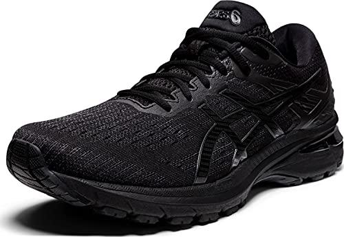 ASICS Men's GT-2000 9 Running Shoes, 13, Black/Black