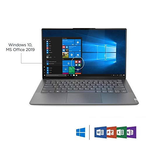 Lenovo Yoga S940 8th Gen Intel Core i7 14.0-inch FHD Thin and Light Laptop (16GB/1024GB SSD/Windows 10 /MS Office 2019/Irongrey/1.2Kg), 81Q7004KIN