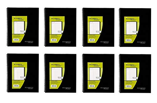 Mead Cambridge Limited Business Notebook Action Planner, 8-Pack (06064)