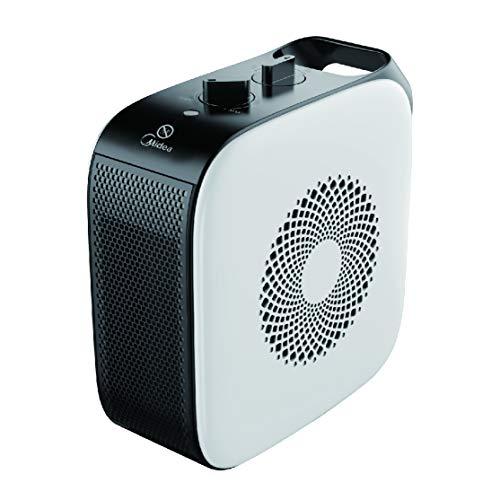 Midea - Termoventilador PTC portátil Ceramic Heater 220-240 V 1500 W blanco