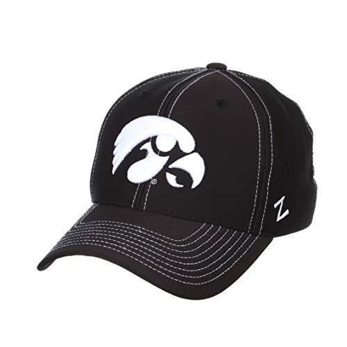 NCAA Zephyr Iowa Hawkeyes Mens Aperture Hyper Cool Hat, Small, Primary Team Color