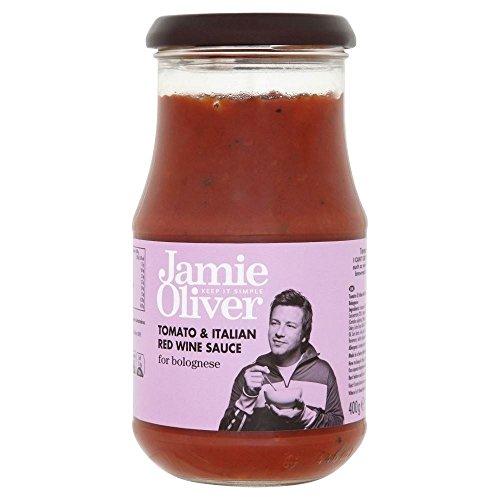 Jamie Oliver Sauce Für Bolognese - Tomaten Und Italienischen Rotwein (400 G)