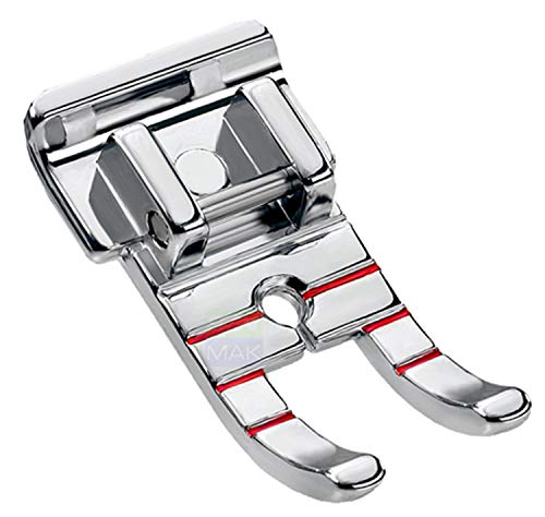 DREAMSTITCH 321417008, 3708-1 1/4 inch Quilting Piecing Presser Foot - Fits All Low Shank Snap-On Singer,Brother,Babylock,Janome,Kenmore,White,Juki,Simplicity,Elna Sewing Machine ALT : 2500267