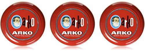 Arko Rasierseife 3 x 90gr. Dose