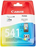 Canon CL-541 Cartucho tinta original Tricolor para Impresora de Inyeccion de tinta Pixma MG2150-2155-2250-2255-3150/55-3250/55-3550-3650-3650S-4150-4250-MX375-395-435-455-475-515-525-535S-TS5150-5151