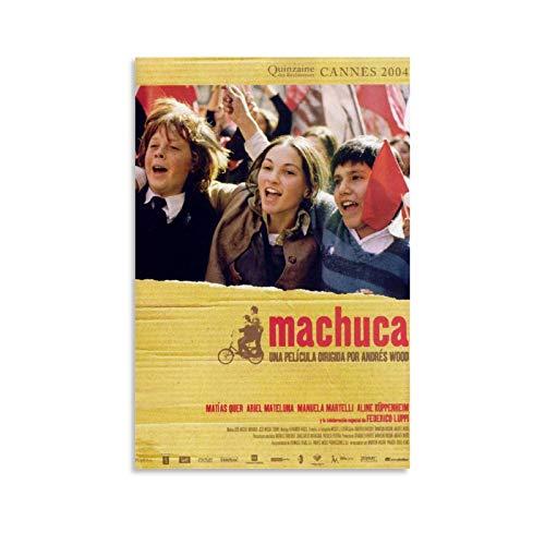 QOQOQO Machuca - Póster de la historia clásica de la película y arte de la pared de 40 x 60 cm