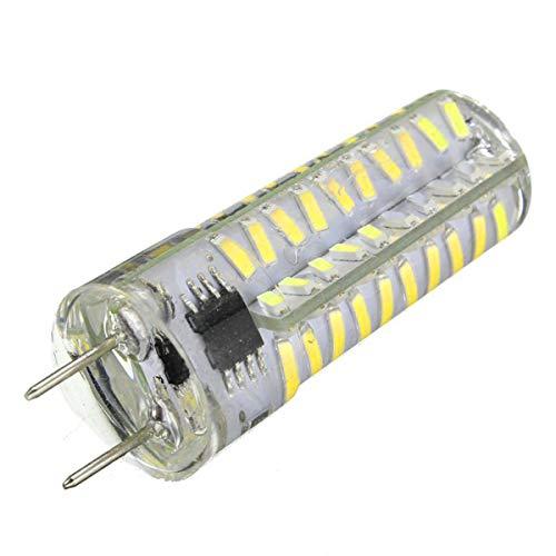 LTH-GD Gorra de Invierno y Sombrero Dimmable G8 5W 80 LED 4014 SMD 400-500 LM Blanco cálido Cool White LED Lámpara de Gel de sílice AC 110-130V (1PCS) (Size : Cold White)