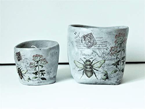 Mel-O-Design - Vaso per piante + portacandela