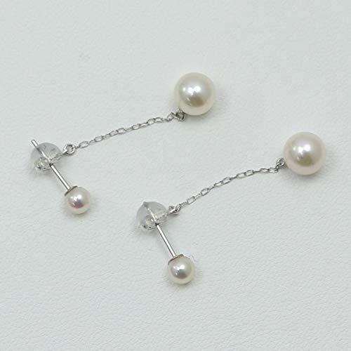 arielpearl(アリエルパール)『あこや本真珠パールロングピアス』
