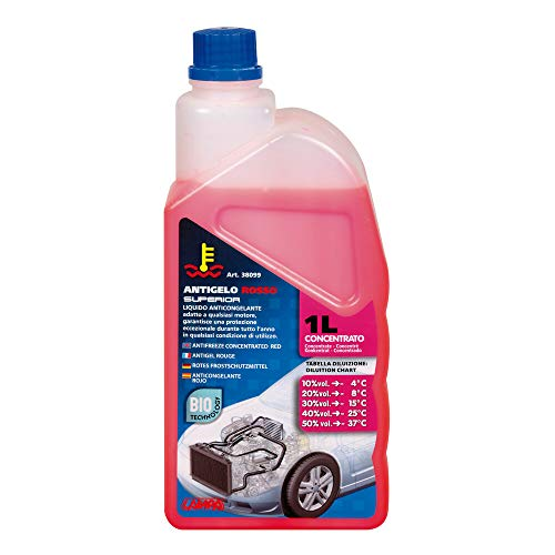 Lampa 38099 Anticongelante Concentrado (-37°) Frasco, Color Rosa, 1000 ml