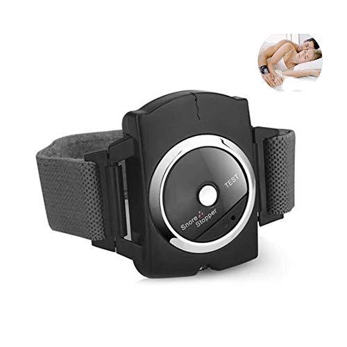 LLLZM Anti Schnarch GeräT Elektrisches Armband Gurt Effektive SchnarchlöSung Biofeedback Sensor GeräTe SchnarchschalldäMpfer Reduzieren Sie Die Schlafhilfe Um Das Atmen Zu Erleichtern