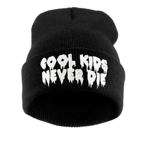 Beanie hat Bonnet Fashion Jersay Oversize Bad Hair Day Bastard Diamond Swag Cool Kids