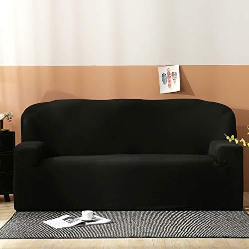 Layack Elastischer Sofabezug 3 Sitzer, Stretch Sofa-Überwürfe Mode Klassisch Muster Spandex Sofabezug für 2 Kostenloser Kissenbezug