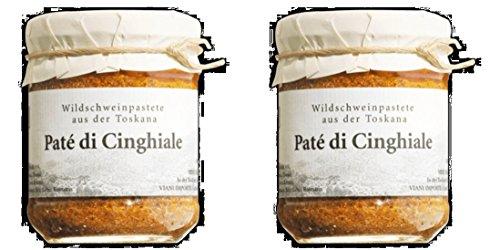 Paté di Cinghiale - Toskanische Wildschwein-Terrine - 2x 180 g
