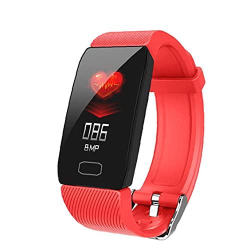 FeelMeet Inteligente Reloj Pulsera Inteligente Aptitud del Reloj del Ritmo cardíaco Rastreador Caolorie Q1 de Prueba de medidor de Red Salud Deportes