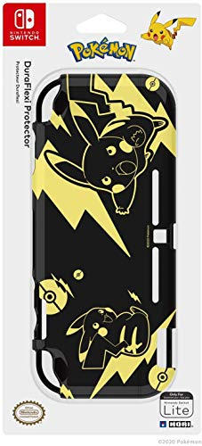 Hori Cover Protettiva Duraflexi Per Nintendo Switch Lite - Pikachu Black & Gold - Nintendo Switch