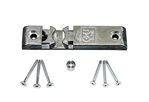 GU Universal Türschnäpper Balkontürschnäpper 8-740 mit Rollzapfen (auch als Reparatur für andere Hersteller geeignet) incl. SN Befestigungsmaterial
