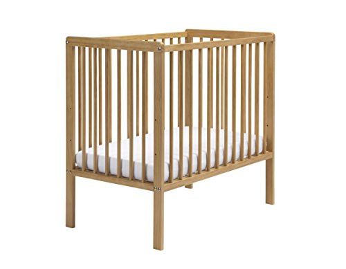 East Coast Nursery Carolina platzsparend Babybett mit Matratze (Antik)