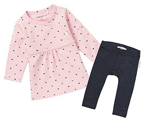 Noppies Baby-Mädchen Mädchenkleid Marana Jeanskleid (2 Set (Kleid+Leggings), 56)