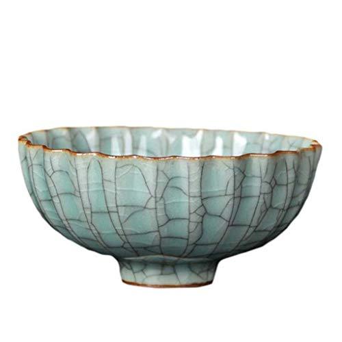 Keramische kom Longquan Celadon Bowl, oven Retro Bloemkom en Kwai Mond Bowl, Kijk Creatieve Bowls, Keramische Bowls Persoonlijk