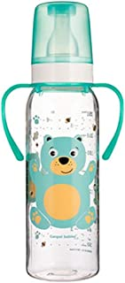 زجاجة رضاعة من كانبول للاطفال 250 مل مع مقبض (خالية من البيسفينول ايه 0%) مجموعة بتصميم حيوانات مبهجة 11/845