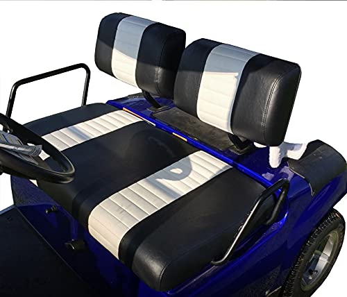 Yamaha Virginia Beach Mall G-16 G-22 Staple On Golf cheap Stripe Cart Seat 2 Cover