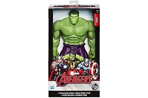 Hulk action figure Marvel 30 cm articolato Avengers 4 anni Titan Hero Series